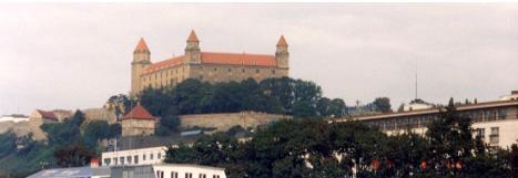 スロヴァキア ブラチスラバ城